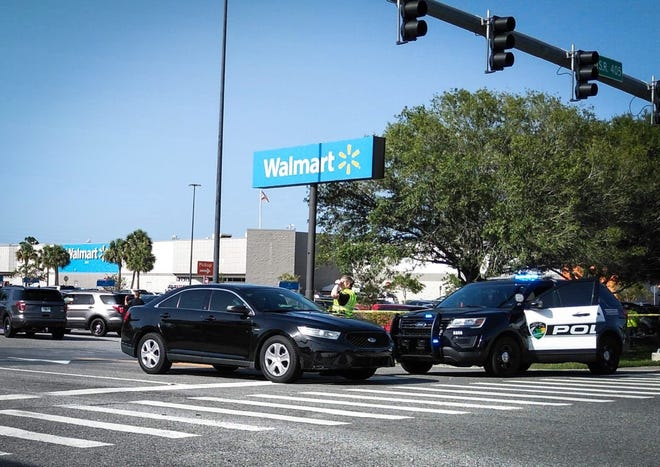 Heavy police presence reported at Cheney Highway Walmart location in Titusville.