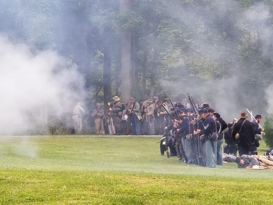 The Crawford Park District will present a Civil War reenactment June 29 and 30 at Unger Park in Bucyrus.