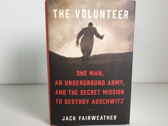 "Former war reporter Jack Fairweather of Charlotte is the author of ""The Volunteer."""