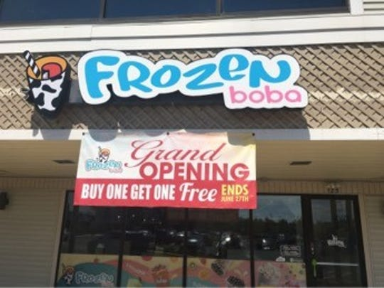 Frozen Boba opened recently in Marlton Crossing shopping center in Marlton. The shop has Thai ice cream roll and bubble tea.
