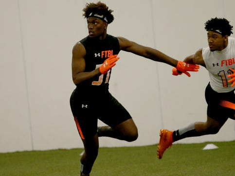 Princeton High School football talent turning Division I recruiting heads