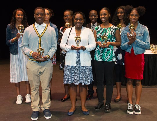 Local middle school students honored with the annual Paul Robeson awards at RVCC