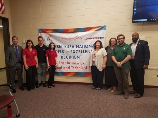 SkillsUSA names East Brunswick Tech a National Model of Excellence- highest SkillsUSA honor awarded to top 24 chapters in the country