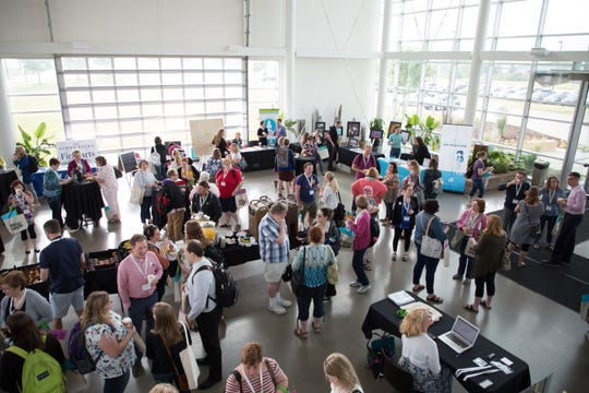 Nearly 400 arts educators gathered for Iowa Fine Arts Education Summit on June 20 at the Des Moines Area Community College in Ankeny.