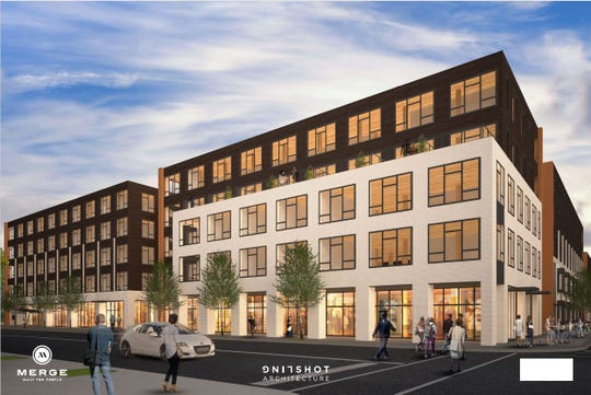 A new $63 million development in Dogtown would have 300 apartment units on University Avenue between 24th and 25th streets.