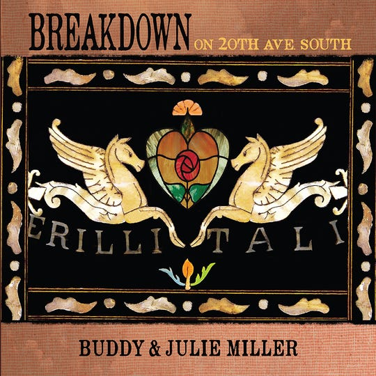 "Artwork for ""Breakdown on 20th Avenue South,"" the 2019 album from Buddy and Julie Miller."