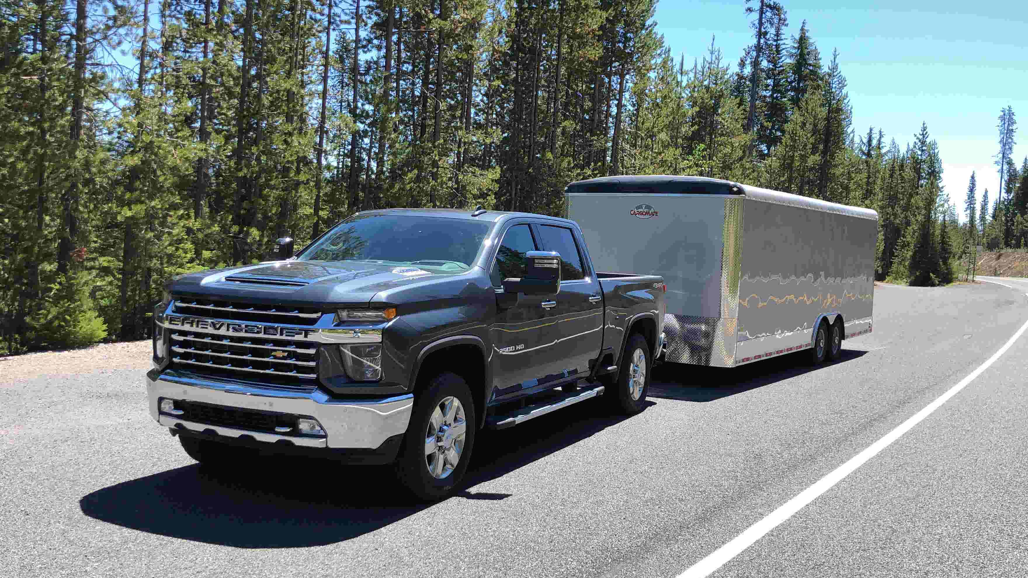 Chevy 3500 Dually Towing Capacity >> Video First Drive 2020 Chevy Silverado Hd