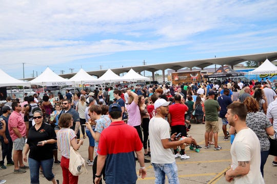 More than 1,500 attending the annual Burger Battle at Eastern Market on Sunday, June 23.