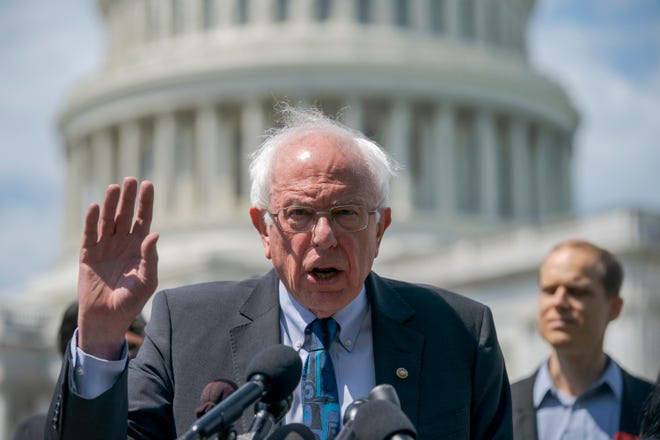 Sen. Bernie Sanders will join people with type 1 diabetes on a trip from Detroit to Windsor to buy cheaper insulin.