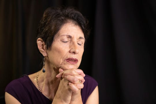 Diane Foley, mother of journalist James Foley, who was killed by the Islamic State terrorist group in a graphic video released online, speaks to the Associated Press during an interview in Washington, Wednesday, June 19, 2019.