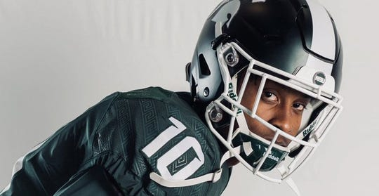 Ricky White, a three-star receiver from Marietta (Ga.) Wheeler, says he'll play football at Michigan State in 2020.