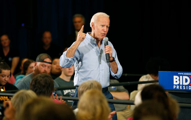 Democratic presidential candidate former Vice President Joe Biden unveiled some immigration policies in a newspaper op-ed Monday.
