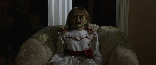 """Annabelle in """"Annabelle Comes Home."""""""