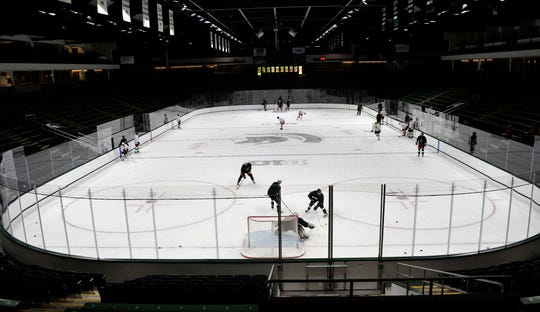 Munn Ice Arena is home to the Michigan State hockey team.
