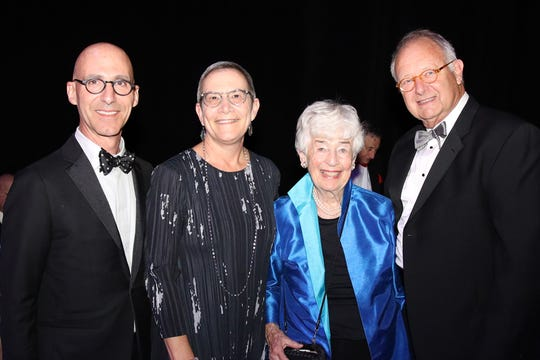 From left, Peter Falzon, Anne Parsons, Barbara Van Dusen and Donald Dietz.