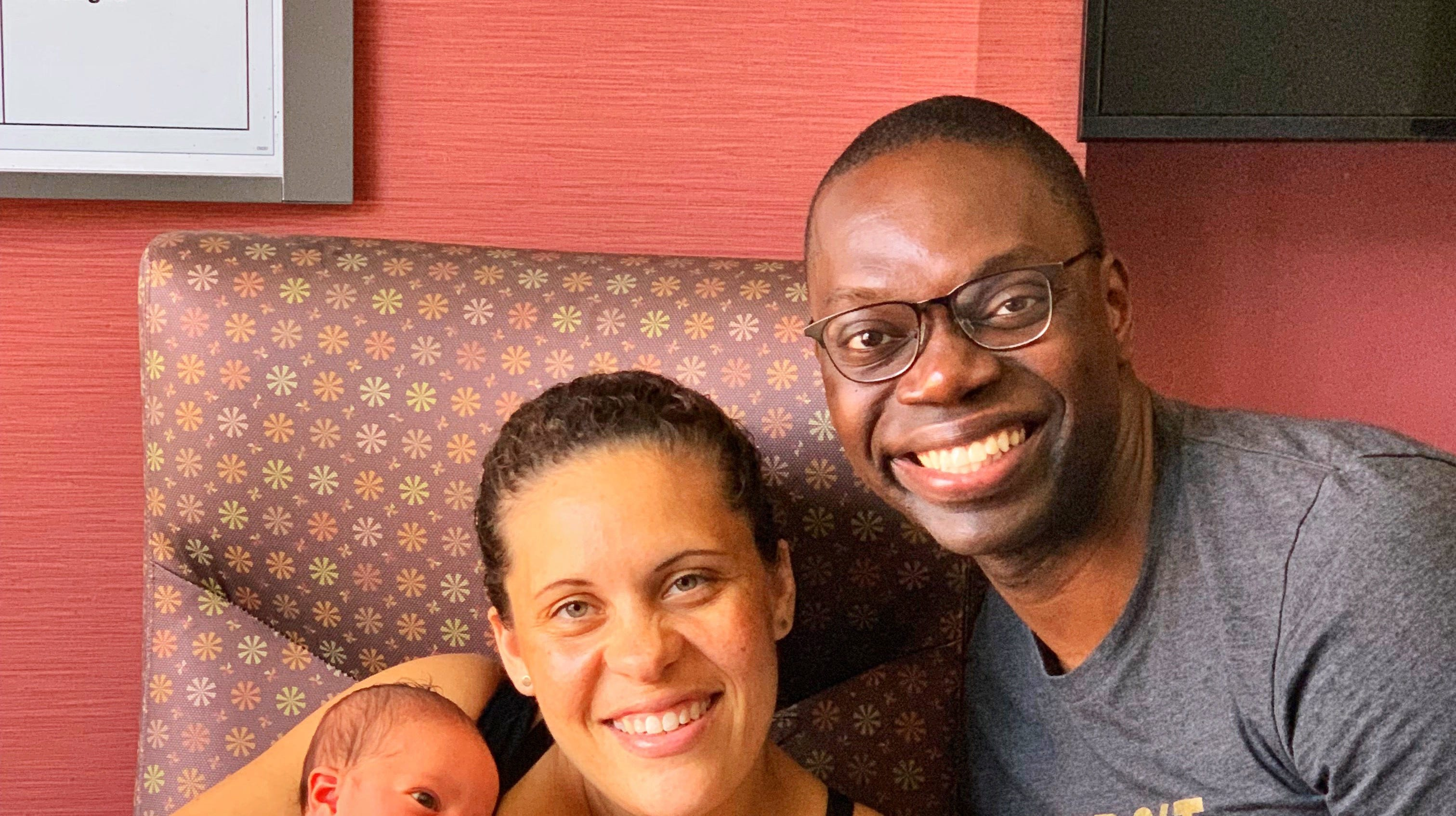 Lt Gov Garlin Wife Announce Baby Girl