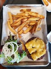 The Royal Burger at the Burgh House.