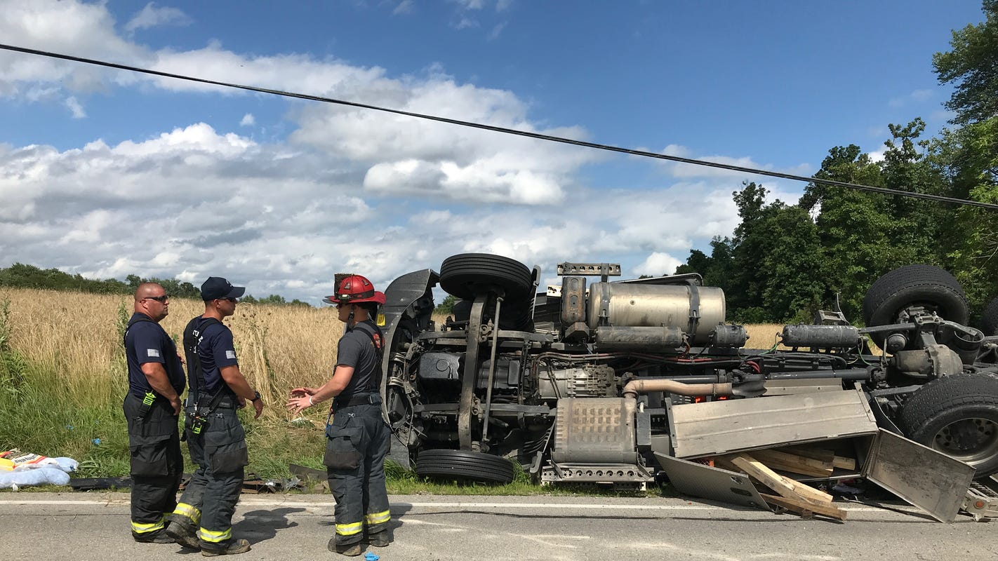 ISP: Medical helicopter, extrication requested at scene of