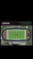 Mount Vernon's new turf