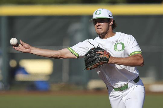 This past season, Sam Novitske became one of three Oregon freshmen in the modern era to hit .300.