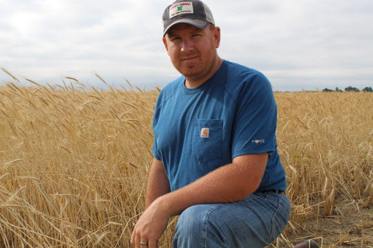 Chad Gargas, a fifth generation farmer based in Genoa, has only been able to plant a minimal amount of corn and soybeans this year due to heavy rains and wet soil conditions. Most Ottawa County farmers have been unable to plant corn or soybeans in 2019.