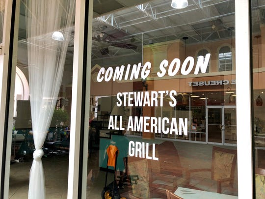 Stewart's All American Grill is coming to Miromar Outlets in Estero.
