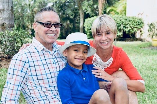 DeAnne and Bill DeCicco of North Fort Myers adopted a newborn who had been exposed to multiple drugs in the womb, including opioids and possibly methamphetamines. The boy, Enzo, is now 6 years old.