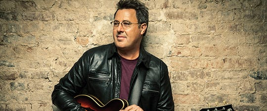 Vince Gill will be in concert Oct. 19 at the Weidner Center.