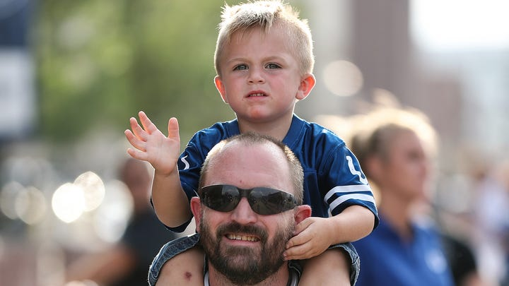 Newborns and toddlers will get into Colts games free
