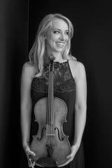 Viollist Molly Carr of the Solera Quartet