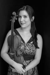 Violinist Miki-Sophia Cloud of the Solera Quartet