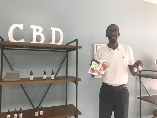 Your CBD Store Jackson owner, Justin Freeman