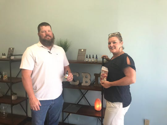 Your CBD Store Flowood owners, Cliff and Jeanie Yoder