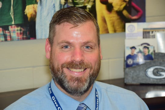 Dr. Tony Pointer, a decades long fixture at Grace Christian Academy, was promoted from Upper School Bible teacher to Head of School in May.