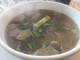Vincent's Cafe Pho House offers a pho combo, featuring the rare steak, brisket and beef meatballs.