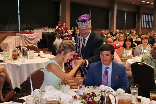 Sophie Ann Goodrich was named the Triton queen Saturday.