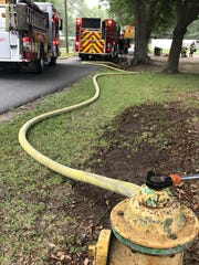 Scott Fire Department responded to a residential fire Sunday.