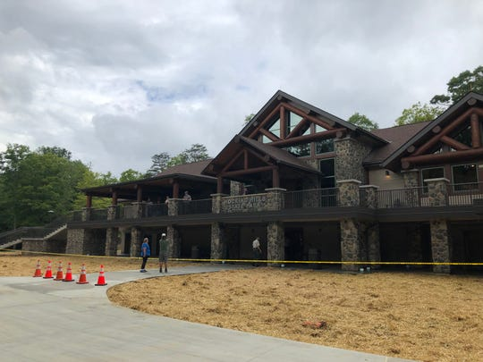 The newly opened Hocking Hills Visitor Center.