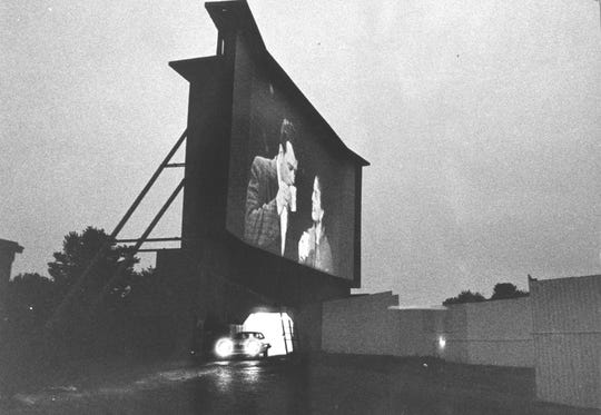Today's drive-ins like the Twilight Drive-in in Louisville differ from their predecessors. But people still sometimes leave in mid-picture. June 6, 1978