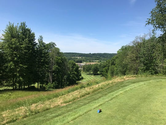 No. 8 at Deer Ridge is a reachable Par 4 straight down a hill and offers the best view on the course.