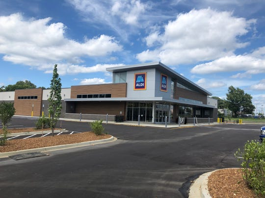 The new Aldi at 4720 Summer Avenue.