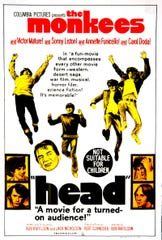 "The Monkees confused their kids fans with their first feature film, ""Head,"" in 1968."