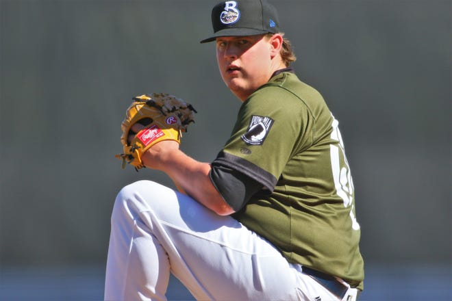 Trey Supak came within one out from a no-hitter for the Biloxi Shuckers on May 30.