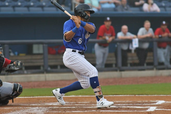 Trent Grisham, the Brewers' first-round pick in the 2015 draft, has hit 16 home runs this season in 66 games after hitting just 17 in 299 the previous three seasons.