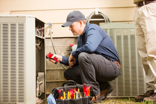 A home air conditioner checkup could save you money.