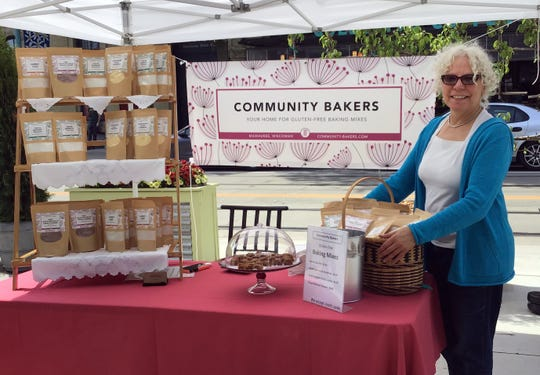 RoseMary Oliveira created Community Bakers to share good-quality, reasonably price gluten-free baking mixes.