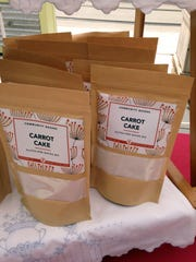Carrot cake is one of four mixes offered so far by Community Bakers.