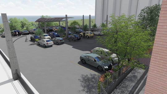A new parking deck is scheduled for completion by late January at the Wisconsin Conservatory of Music main campus, 1584 N. Prospect Ave.