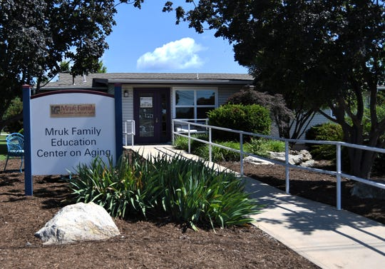The Mruk Family Education Center on Aging will hold an open house from 2-4 p.m. on Friday. The center was renamed in honor of Paul and Janet Mruk 10 years ago.