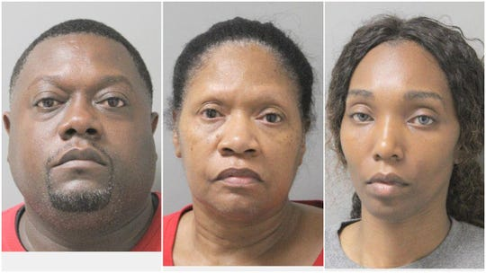 George Cooper III, age 45, his mother, Patricia Cooper, age 64, and his girlfriend, age 39, are facing drug possession with intent to distribute charges.